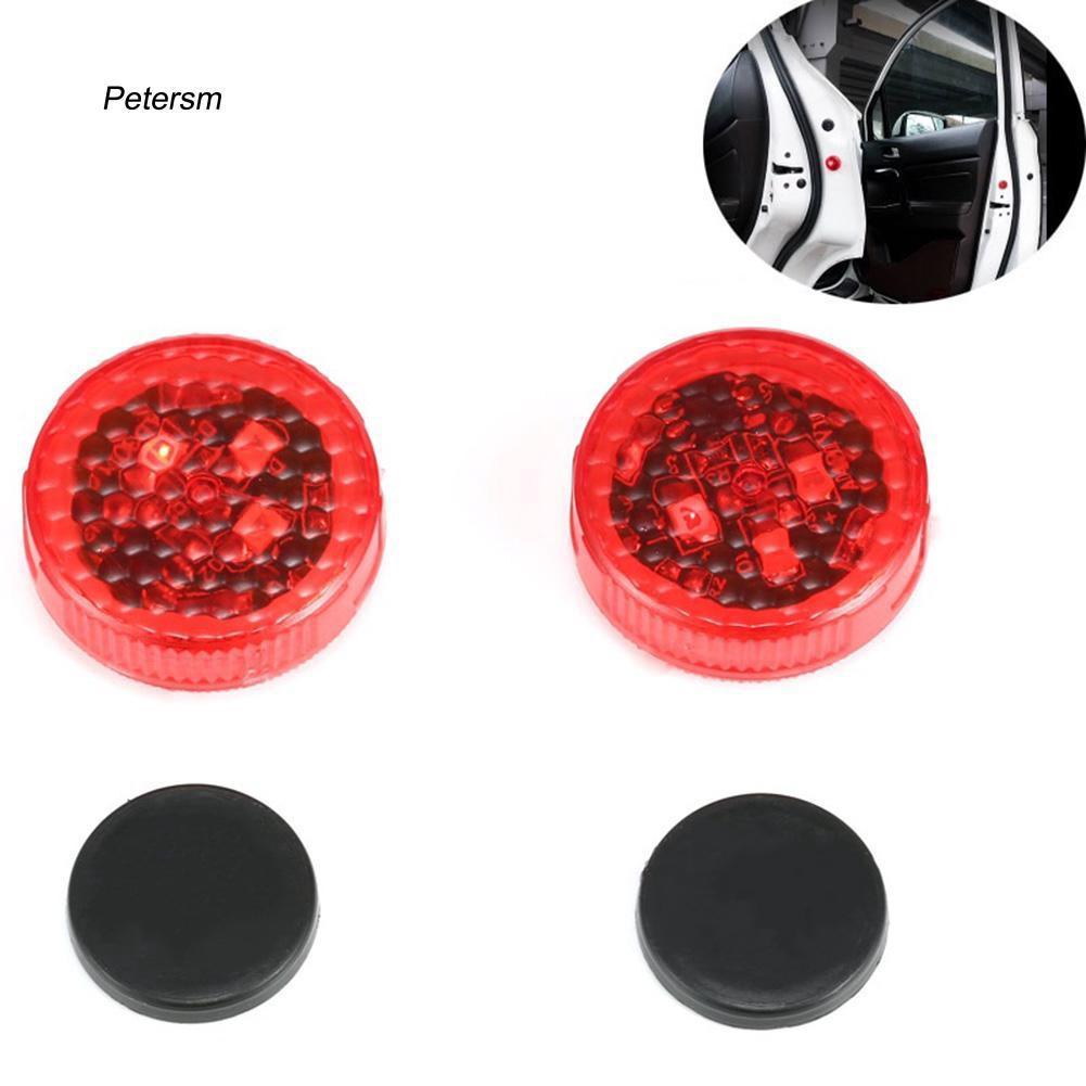 1 cặp đèn LED báo động chống va chạm Không Dây ptsm _ 1 cho xe hơi