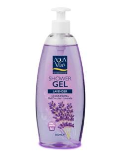 Gel tắm chiết xuất hoa oải hương Aqua Vera 500ml