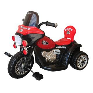 [ Nhập XELUPRO giảm thêm 50K nhé ] Xe đạp 3 bánh Nhựa Chợ Lớn Motor Police One (Có nhạc) – M1724B-X3B