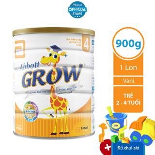 [Tặng đồ chơi xúc cát] Sữa bột Abbott Grow 4 900g