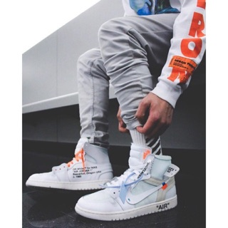 [158sir]Giày sneaker air jordan1 off_white high NRG/unc/chicago2017