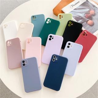Ốp lưng cho iPhone 8 Plus Tpu Mềm Cho Iphone 6 6s 7 8 Plus X Xs Xr 11 Pro Max thumbnail