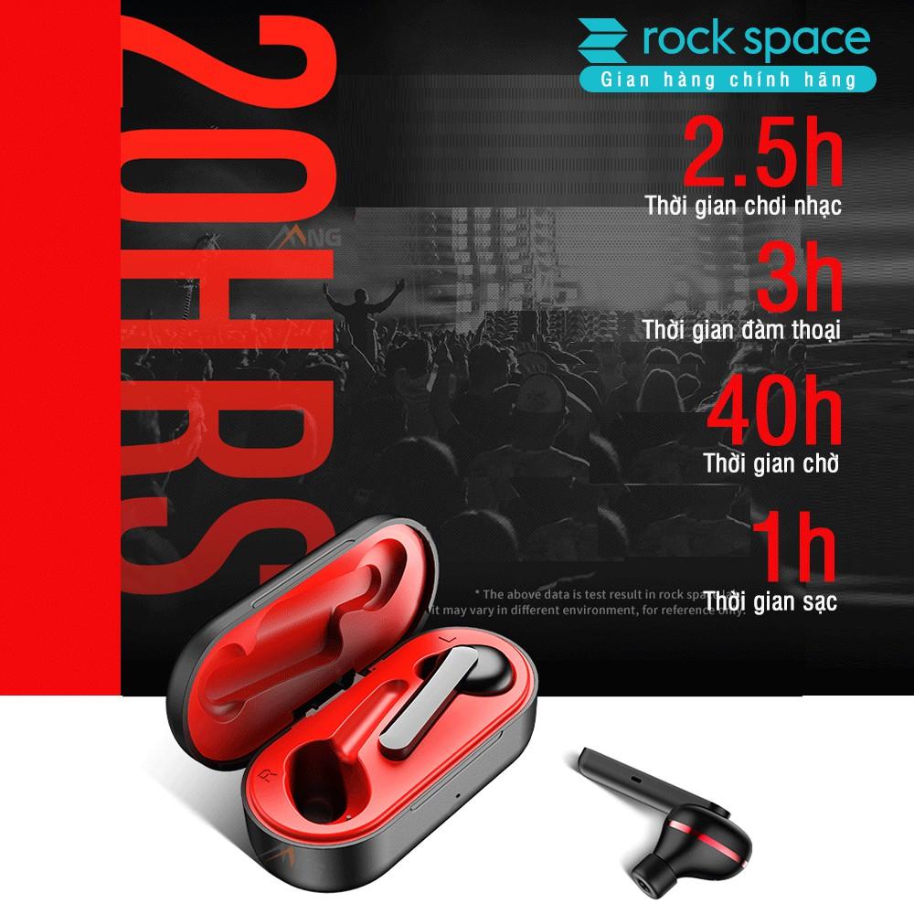 Tai nghe bluetooth không dây true wireless Rockspace EB70 - Hàng chính hãng bảo hành 12 tháng 1 đổi 1