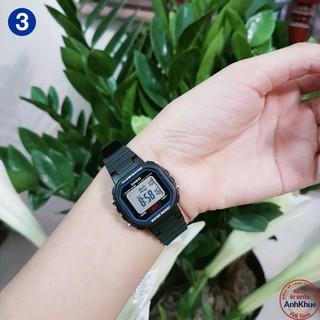 Đồng hồ nữ dây nhựa Casio Standard chính hãng Anh Khuê LA-20 Series