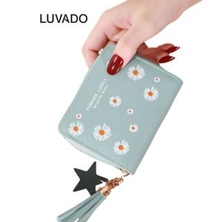 Ví nữ mini cao cấp cầm tay MADLEY đẹp nhỏ gọn bỏ túi đựng tiền LUVADO VD416 thumbnail