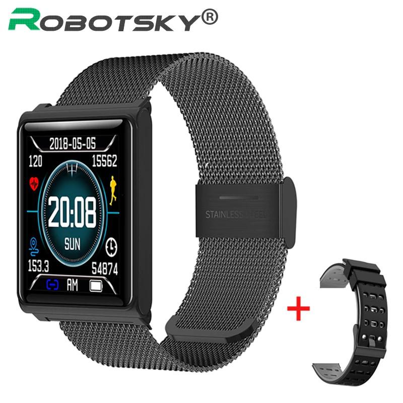 zhenghao011.vn N98 Smart Watch Heart Rate Waterproof Smart bracelet Passometer Blood Pressure Smart Wristband Tracker