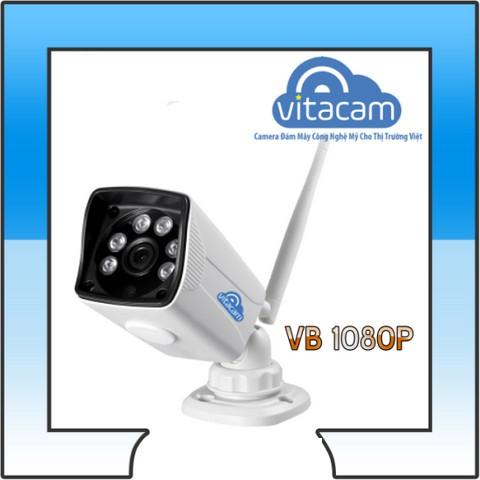 Camera giám sát ngoài trời Vitacam VB1080 - chuẩn FHD 1080P chống nước IP66