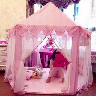 Nhà công chúa Mẫu Hàn Quốc xanh hồng – Hàng nhập khẩu