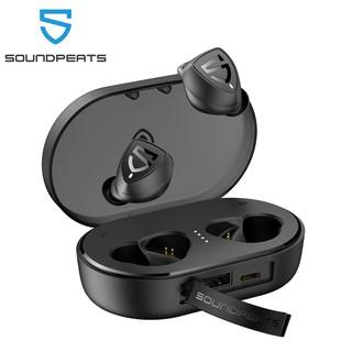 SoundPEATS Trueshift 2 Bluetooth 5.0 True Wireless Earbuds in-Ear Earphones Waterproof Type-C Sports Headset Large Power Bank