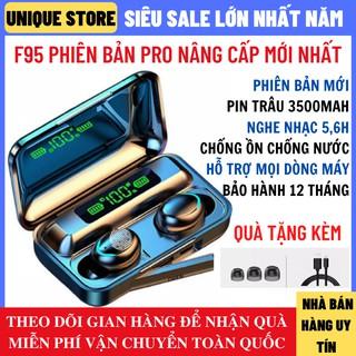 [Mã ELFLASH5 giảm 20K đơn 50K] Tai nghe Bluetooth Amoi F95 Pro Bluetooth 5.0 phiên bản cảm ứng, chống nước, pin trâu