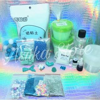 [Slime] Kit Slime Nhỏ Chủ Đề Xanh Dương 💦