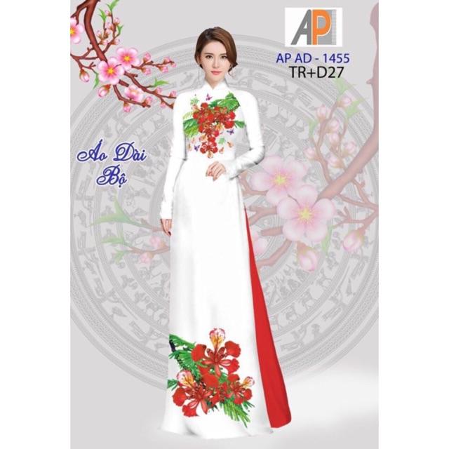 Vải áo dài hoa phượng - 2985545 , 1139050940 , 322_1139050940 , 230000 , Vai-ao-dai-hoa-phuong-322_1139050940 , shopee.vn , Vải áo dài hoa phượng
