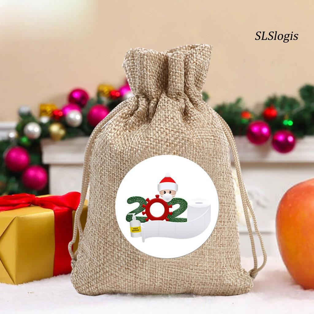 Ớ Túi Đựng Bánh Kẹo Hình Ông Già Noel Dễ T bán 22,765đ