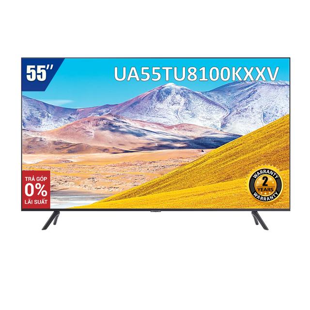 Smart Tivi 4K UHD Samsung 55 inch UA55TU8100KXXV (Model 2020)