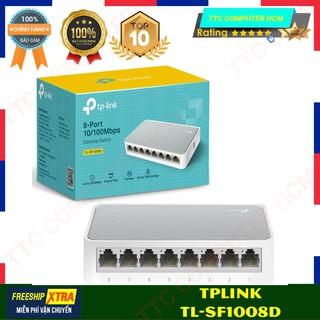 SWITCH TPLINK TL-SF1008D V11   Thiết Bị Chuyển Mạch Để Bàn 8-Port 10/100Mbps   Desktop Switch 1008D V11