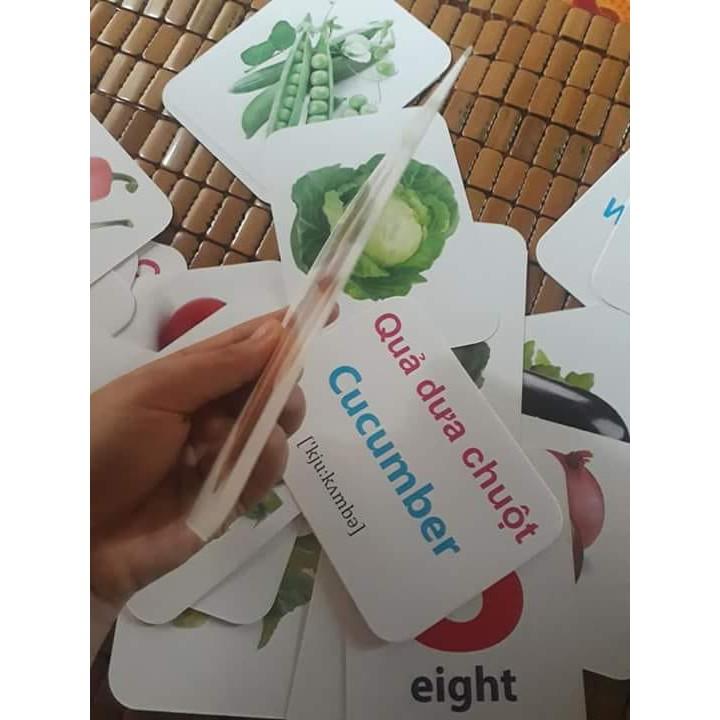 Combo Bộ thẻ học loại to và Bộ Tranh treo tường cho bé ( Bộ thẻ thế giới xung quanh...