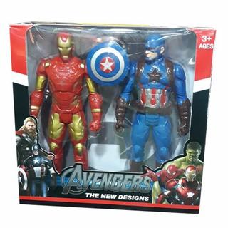 Bộ đôi người sắt và siêu anh hùng đội trưởng Mỹ – [giadung.24h]