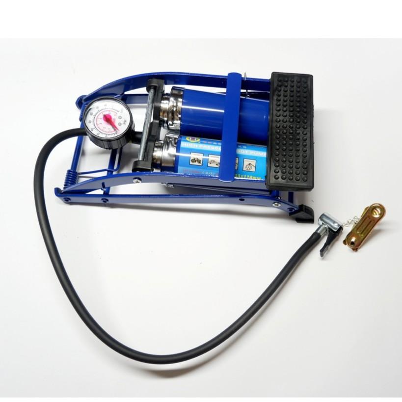 Bơm chân 2 ống đa năng C-mart L0002 (Xanh)