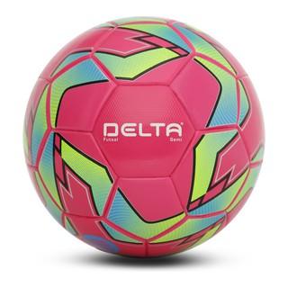 Bóng Đá Futsal 3641 Delta màu hồng 3641- Số 4 Tặng Kim Và Lưới Đựng Bóng