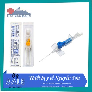Kim luồn tĩnh mạch HEALFLON 22G, 24G dùng trong y tế - lẻ 1 chiếc thumbnail