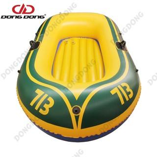 Thuyền phao Kayak 713 cho 2 người, thuyền bơm hơi đi câu cá gấp gọn tiện lợi, chất liệu cao cấp .