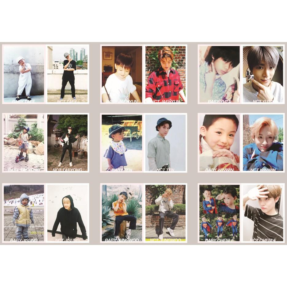 Lomo card ảnh nhóm nhạc NCT update Twitter Full 99 ảnh