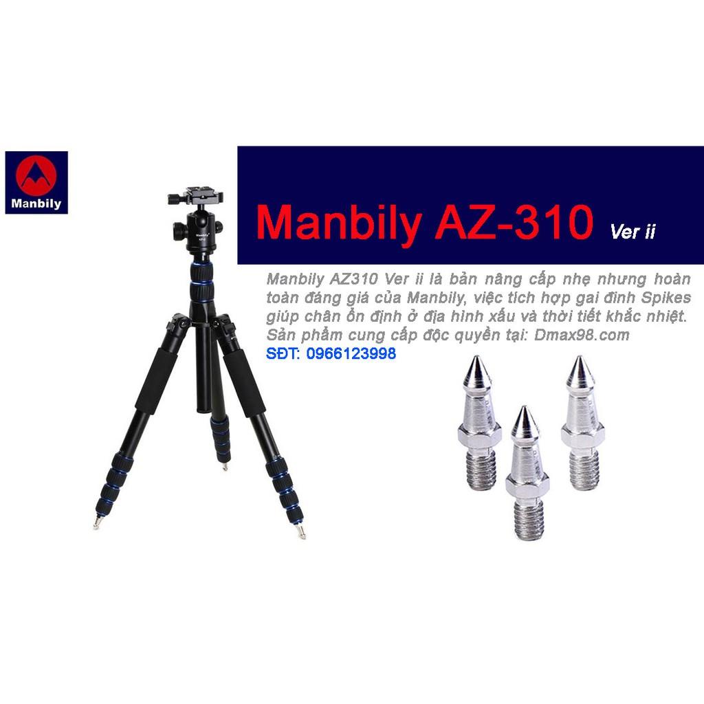 Chân máy ảnh Tripod Manbily AZ-310 bản ver II với chân đinh đặc biệt - 14006258 , 1049973401 , 322_1049973401 , 1349000 , Chan-may-anh-Tripod-Manbily-AZ-310-ban-ver-II-voi-chan-dinh-dac-biet-322_1049973401 , shopee.vn , Chân máy ảnh Tripod Manbily AZ-310 bản ver II với chân đinh đặc biệt