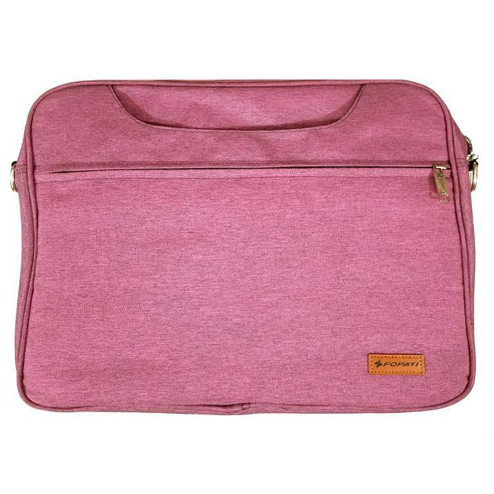 (GIÁ HỦY DIỆT)  Cặp màu hồng tím nhiều ngăn dành cho laptop 14, 15.6 inch - SIÊU BỀN