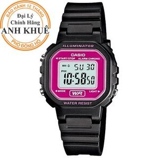 Đồng hồ nữ dây nhựa Casio chính hãng Anh Khuê LA-20WH-4ADF thumbnail