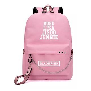 Balo Blackpink thông minh, balo hồng