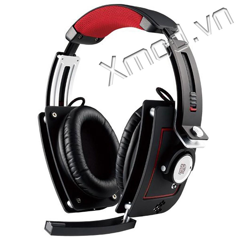 Tai nghe Tt esports Level 10M (Black & White & Red) Giá chỉ 2.990.000₫