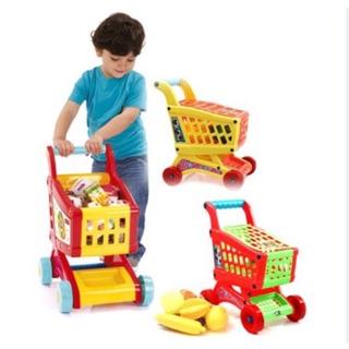 Đồ chơi xe đẩy siêu thị cho bé