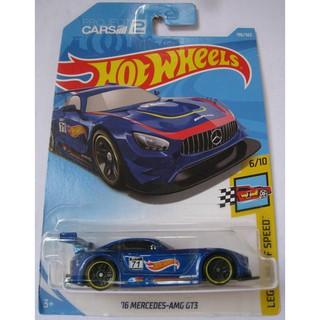Xe Hot Wheels '16 Mercedes-AMG GT3 FJY10