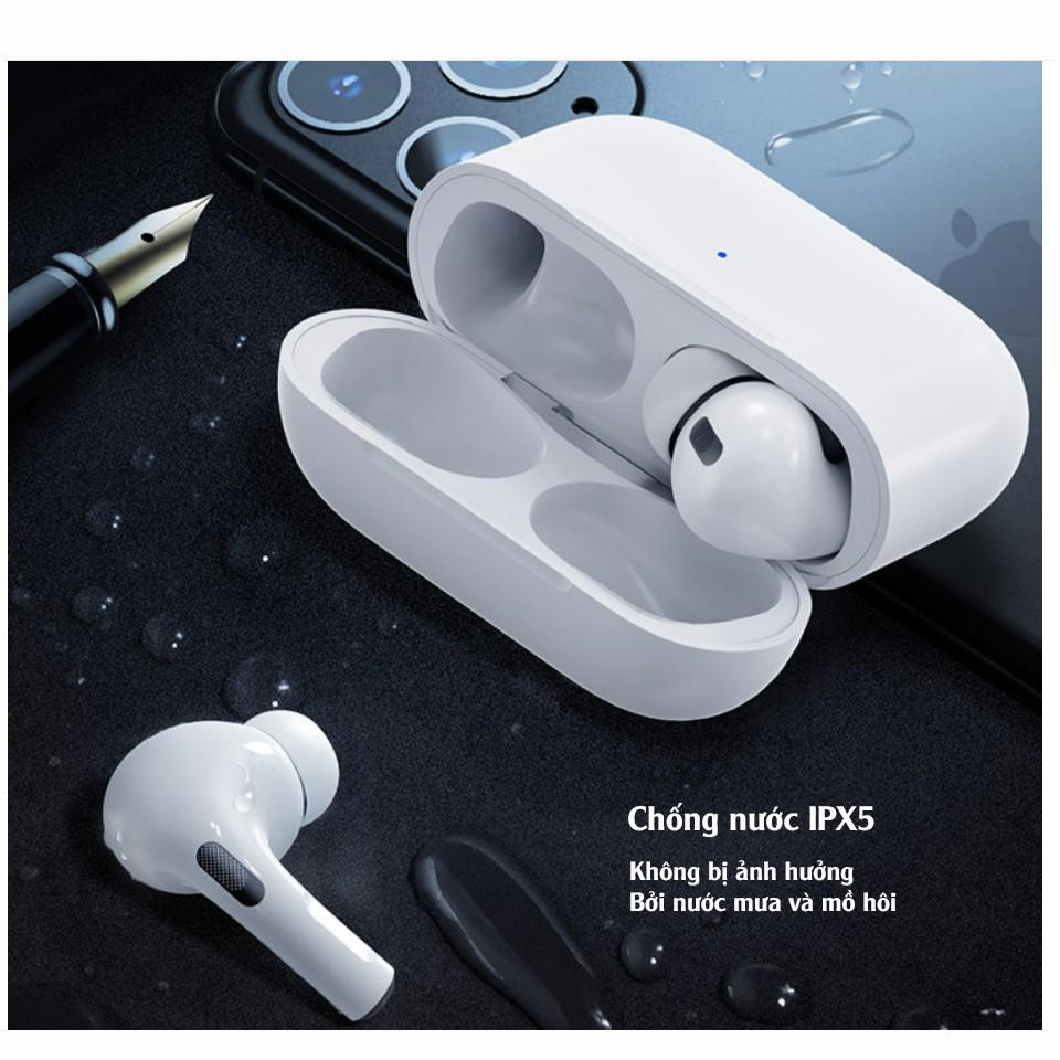 Tai nghe Bluetooth không dây điều khiển cảm biến âm thanh HIFI cho Android  iOS TWS thế hệ 3 giảm ồn tối đa - Tai nghe Bluetooth nhét Tai Nhãn hiệu No