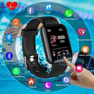 Đồng hồ thông minh Bluetooth 4.2 Inch theo dõi sức khỏe phong cách thể thao