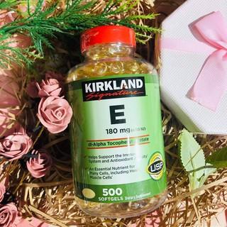 Vitamin E 400 IU 500 Viên Kirkland Của Mỹ – Đẹp Da Làm Chậm Lão Hóa [CAM KẾT CHÍNH HÃNG]