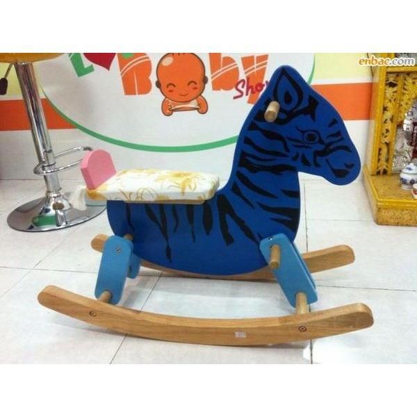 [BÃO GIẢM GIÁ] Ngựa gỗ bập bênh IQ Toys   SẢN PHẨM HOT