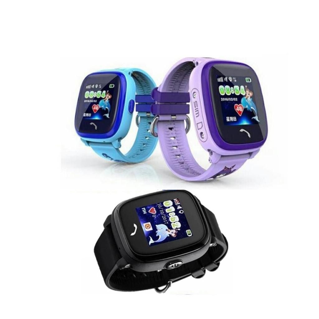 Đồng hồ định vị trẻ em DF25, Đồng hồ thông minh cho bé dễ dàng sử dụng, đẹp thời trang, an toàn cho bé, có tiếng việt