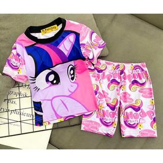 Bộ thun lạnh 3d size 24-40kg quần áo trẻ em-bộ thun lạnh