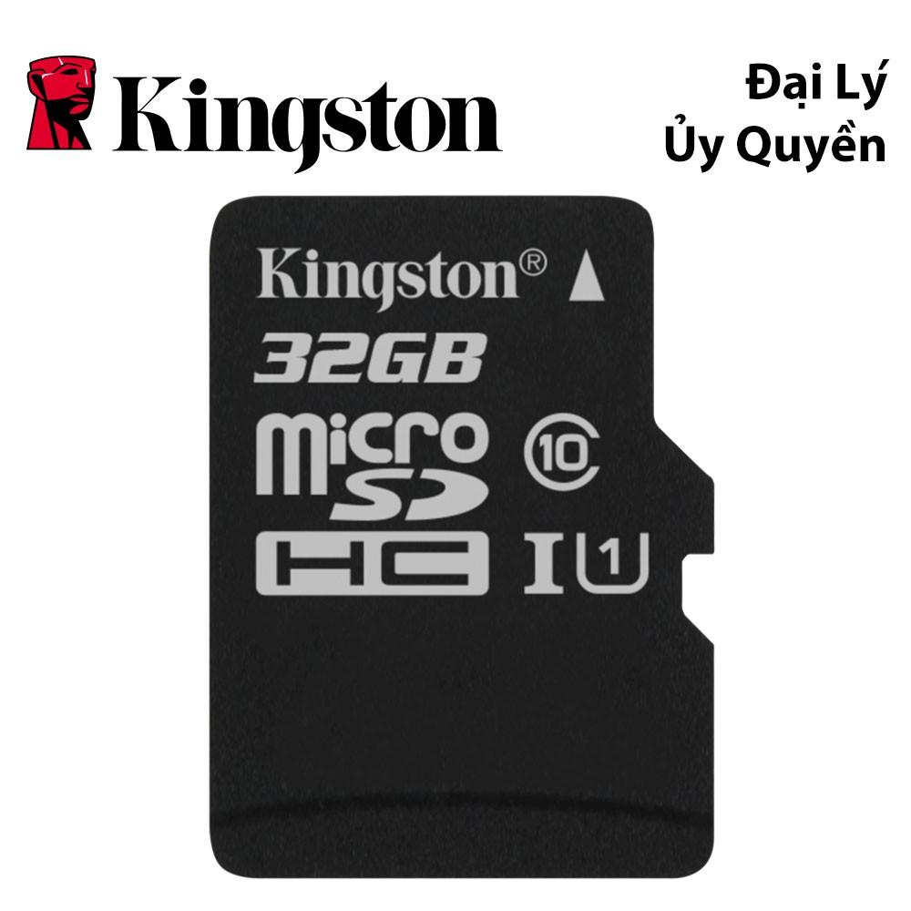Thẻ nhớ Kingston 32GB up to 80Mb/s Class 10-SDC10G2/32GBSPFR - HÃNG PHÂN PHỐI CHÍNH THỨC