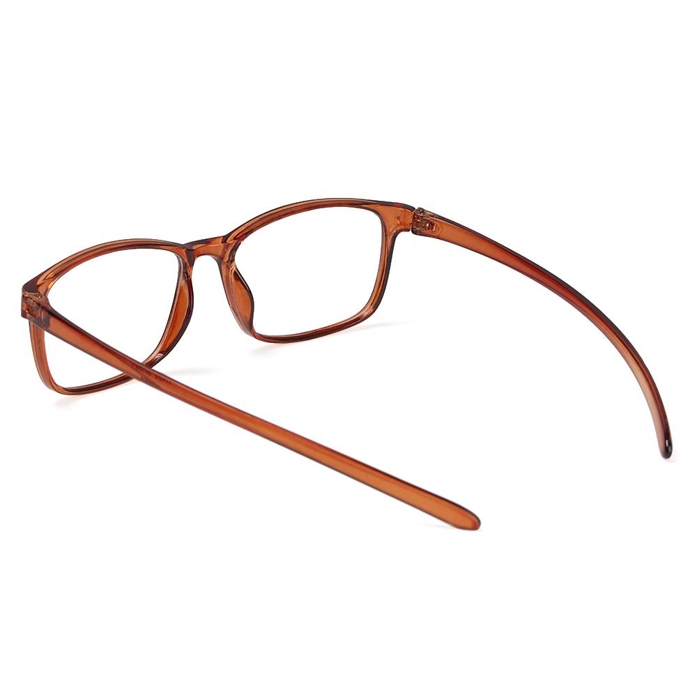 SUSHEN Retro Presbyopic Glasses Fashion Clear Lens Reader Eyewear TR90 Flexible Ultralight Women Men Reading Glasses/Multicolor