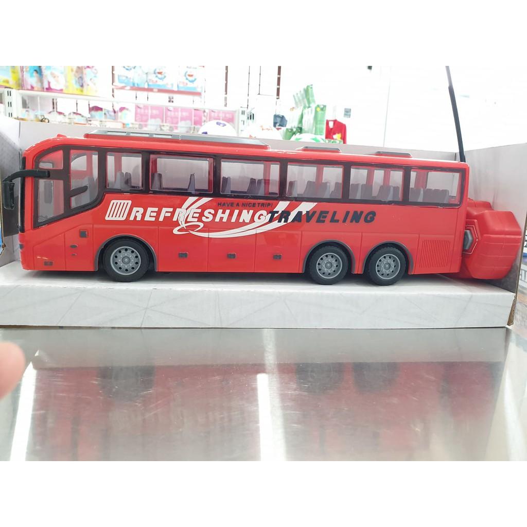 [Giá sỉ] Xe Bus điều khiển từ xa – dùng pin sạc