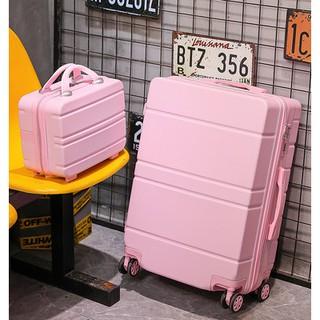Va li ins Mạng màu đỏ Nhật Bản cô gái nhỏ 20 inch kéo hộp Túi du lịch Lớn Da hộp mật mã thumbnail