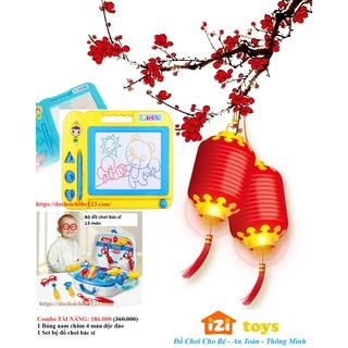 [Đón Lộc Đầu Năm] đồ chơi nhựa bảng nam châm 4 màu và bộ đồ chơi bác sĩ