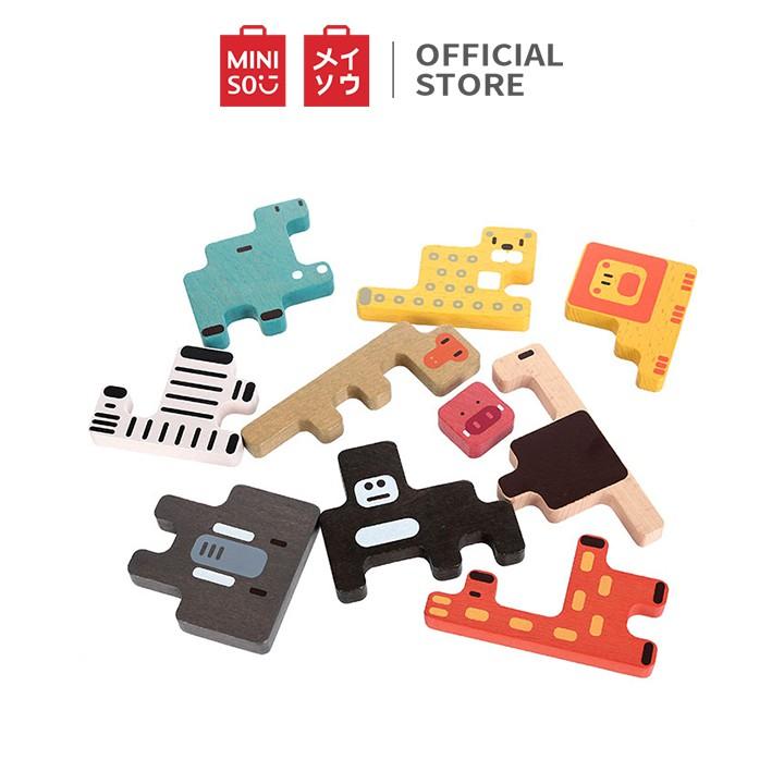 Đồ chơi ghép hình Miniso Forest Animals Educational Toy TG1026 (Nhiều màu) - Hàng chính