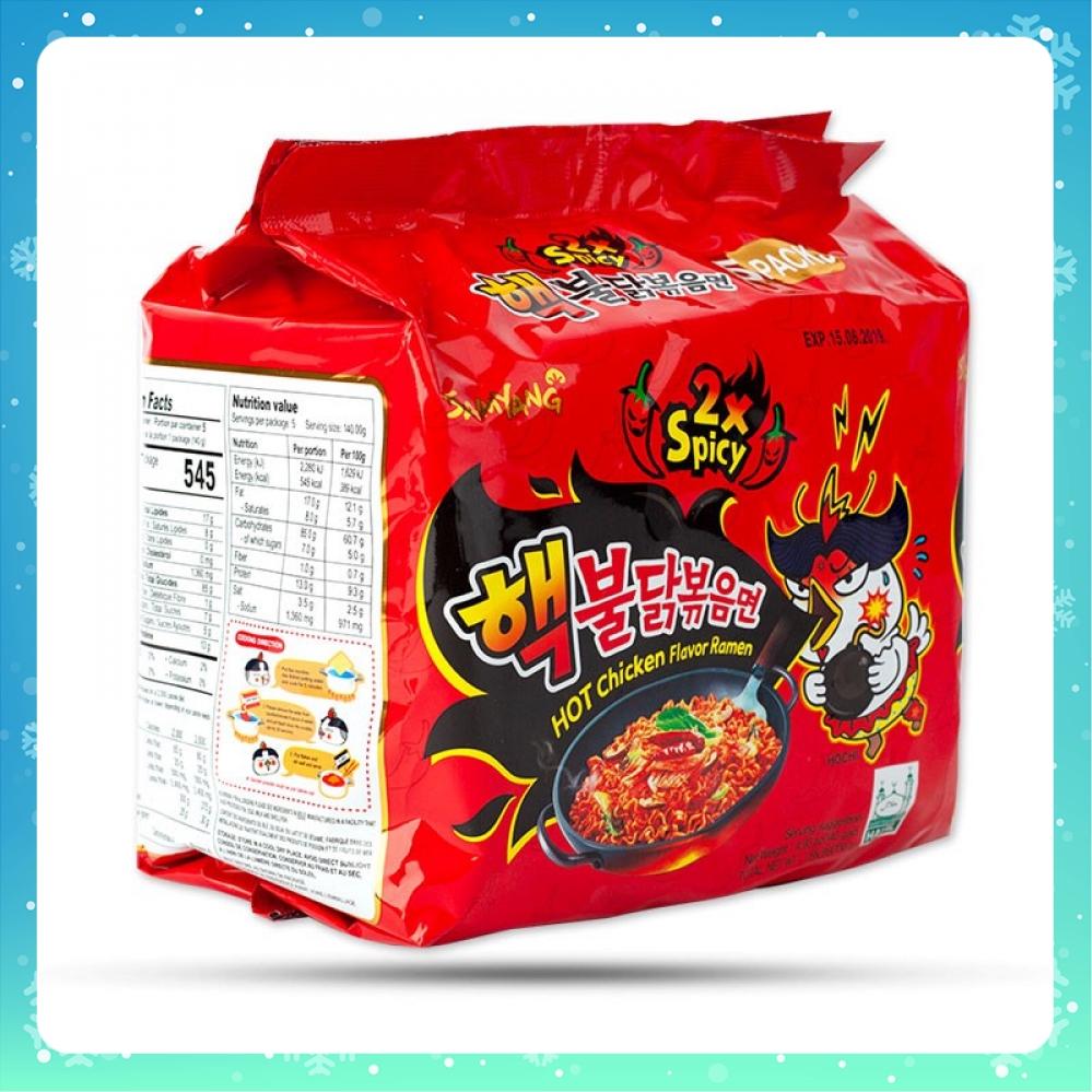 Mì gà siêu cay Samyang 2x nhập khẩu Hàn Quốc COMBO