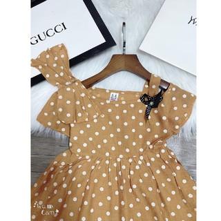 váy đũi thiết kế đính ngọc cực sang chảnh cho gái cưng 14-24kg