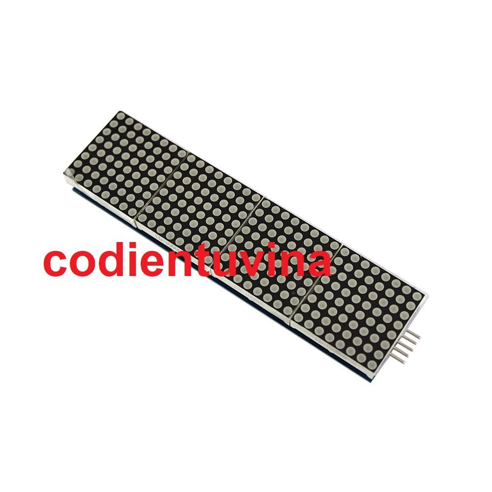 Module hiển thị 4 led ma trận MAX7219