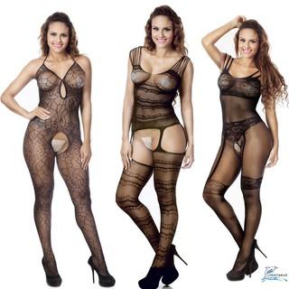 DDD-Womens Sexy Lingerie Lace Dress Underwear Black Babydoll Sleepwear G-string