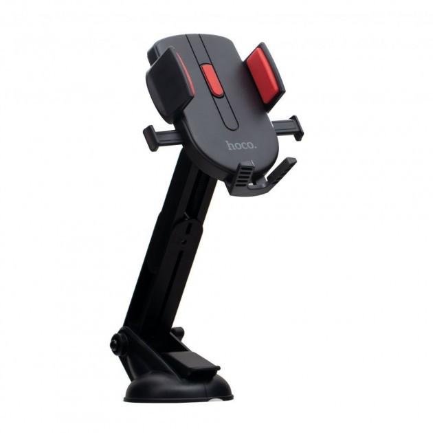 Gía đỡ điện thoại Hoco CAD01 xoay 350 độ nhựa ABS cao cấp cho xe hơi